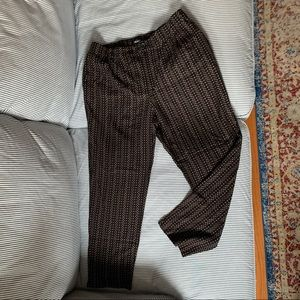 NWOT Madewell Ribbon Dash Track Trousers